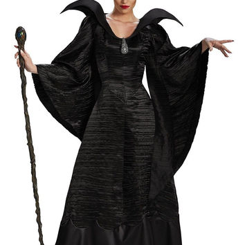 Disguise Women's Disney Maleficent Black Christening Gown Costume Small (4-6)
