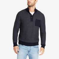 Textured Cotton Button Mock | Bonobos
