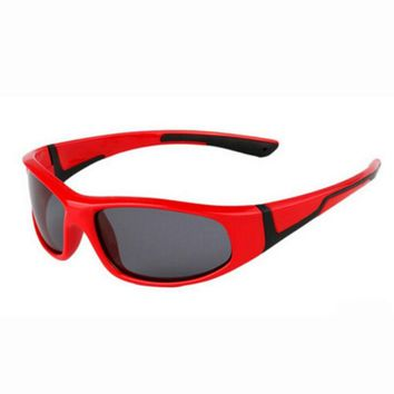 Kids Fishing Eyeswear Polarized Sunglasses Super Soft Child Safety TAC Glasses Cycling Outdoor Sport Goggles Shades oculos