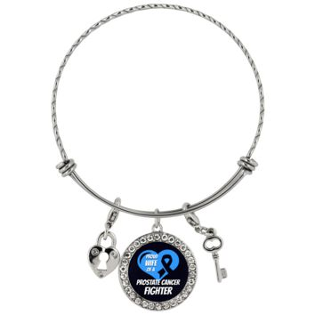 Prostate Cancer Bracelet Proud Wife Of A Fighter