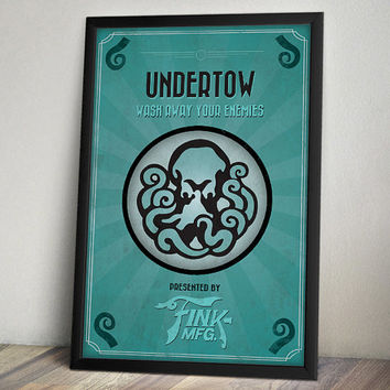 Bioshock Infinite Inspired Poster - Undertow Vigor