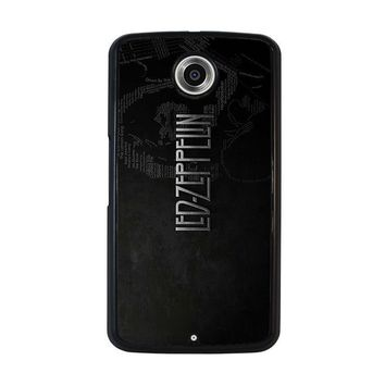 LED ZEPPELIN LYRIC Nexus 6 Case Cover
