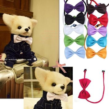 Hot Sale Cute 2x Fashion Dog Cat Pet Puppy Toy Kid Cute Bow Tie Lovely Necktie Collar Clothes