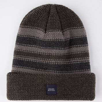 Roark Treky Beanie Charcoal One Size For Men 26125811001