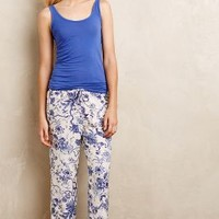 English Garden Sleep Pants by Eloise Blue Motif