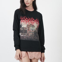 Basic Metal Long Sleeve