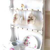Romantic French Country Cottage Shelf Shabby by 3vintagehearts