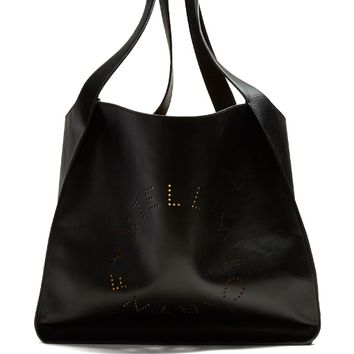 Perforated-logo faux-leather tote | Stella McCartney | MATCHESFASHION.COM US