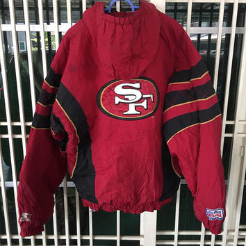 save off 71cba 21279 Best San Francisco 49ers Jackets Products on Wanelo
