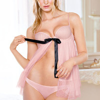 Tulle & Modal Flyaway Babydoll - Dream Angels - Victoria's Secret
