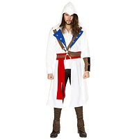Sexy Assassin's Creed Men's Coat with Accessories