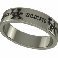 Kentucky Wildcats Stainless Steel Band