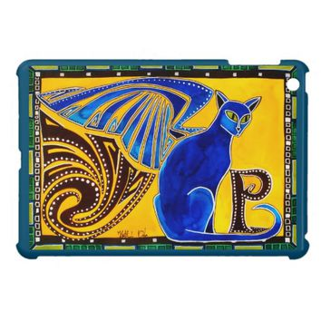 Winged Feline Hybrid Warrior Cat Design Cover For The iPad Mini