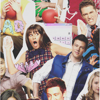 Glee Cast Collage Phone Case