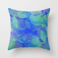 my little mystery Throw Pillow by Marianna Tankelevich