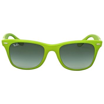 Ray Ban Wayfarer Liteforce Green Sunglasses