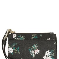 kate spade new york cameron street - flora mellody fabric card case | Nordstrom