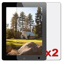 eForCity 2 Pack Anti-Glare LCD Screen Protector Film Compatible With Apple® iPad® 2 16GB / 32GB / 64
