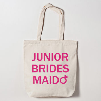 Junior Bridesmaid Diamond Ring Tote Bag