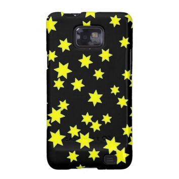 Yellow Stars Galaxy SII Case