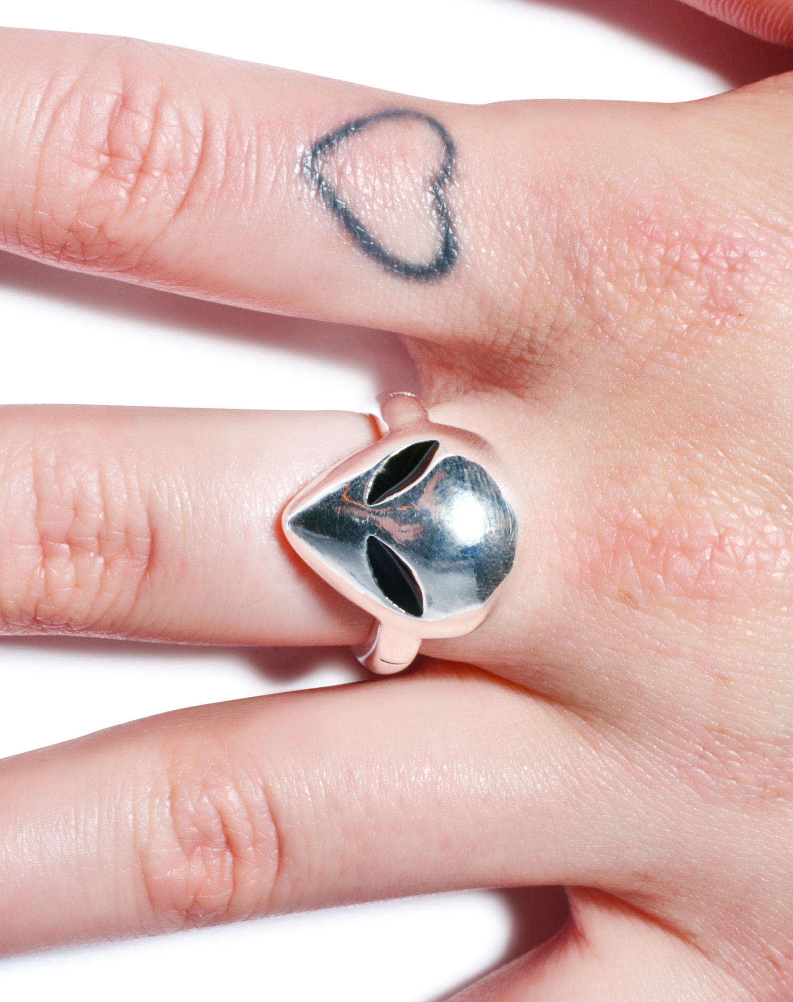 Disturbia X House Of Wolves Alien Ring from Dolls Kill | Things I