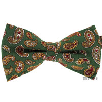 Tok Tok Designs Pre-Tied Bow Tie for Men & Teenagers (B238, 100% Cotton)