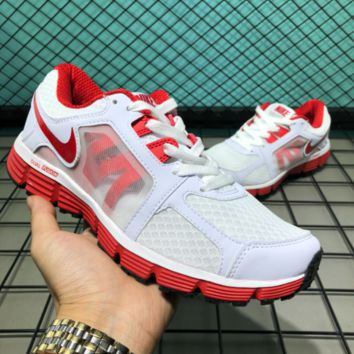 auguu Nike Dual Fusion ST Msl 2018 Breatheable Running Shoes White Red