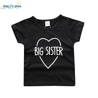 New Boys Clothes Kids letter Printed T-shirt Girls Clothing Kids Clothing Boys T-Shirt clothes