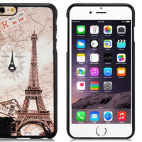Eiffel Tower Rubber Shell Case for iPhone 6\6s Plus
