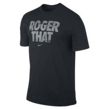 "Nike Store. Nike Premier RF ""Roger That"" Graphic Men's T-Shirt"