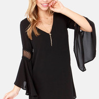 Tailor Maid Black Shift Dress