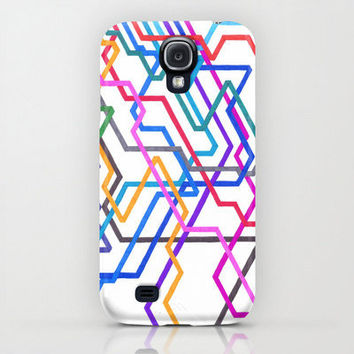 Samsung Galaxy S4 Case - Giant Subways - unique Samsung Galaxy S4 Case, hipster Samsung Galaxy S4 Case, Colorful