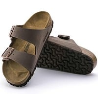 Sale Birkenstock Arizona Birkibuc Mocha 0151181/0151183 Sandals
