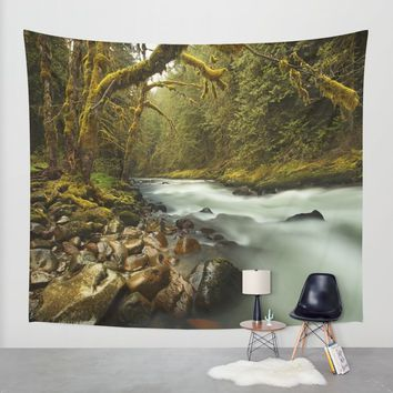 Brook Wall Tapestry by Gallery One