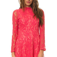 The Gatsby Dress in Coral