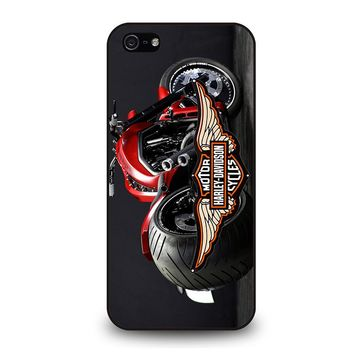 MOTORCYCLE HARLEY DAVIDSON iPhone 5 / 5S / SE Case Cover