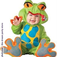 Boys Lil' Froggy Infant / Toddler Costume for Halloween