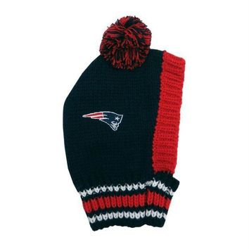 ESBONI New England Patriots Pet Knit Hat