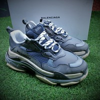 Balenciaga Triple-S 17FW Retro Sneaker Grey Shoes  - Best Online Sale