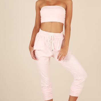 Made For This Pants in Blush Produced By SHOWPO