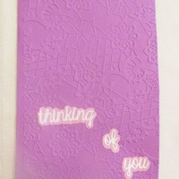 Thinking of You Handmade Greeting Card, USA Made, #73