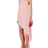 Narciso Rodriguez One Shoulder Gown: Pink at INTERMIX | Shop Now | Shop IntermixOnline.com