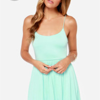LULUS Exclusive Steal A Glance Mint Blue Dress