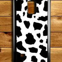 Cow Skin Samsung Galaxy Note 4 Case