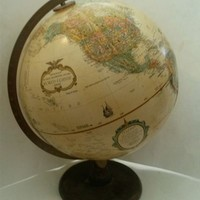 "Globe by Replogle World Classic Series 12"" 2005 Raised Relief"