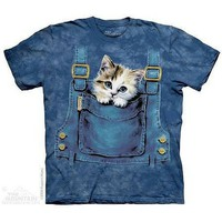 Kitty Overalls T-Shirt