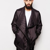 ASOS Cowl Neck Bomber Jacket at asos.com