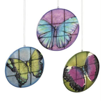 6 Sun Catchers - Butterflies