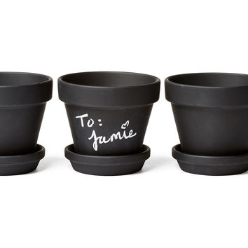 , Set of 3, Outdoor Urns, Planters & Jardinieres