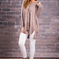 Calling My Name Tunic, Dusty Rose